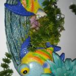 Under the Sea wreath close up