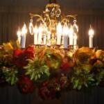 Royal Fall Theme Chandelier Garland